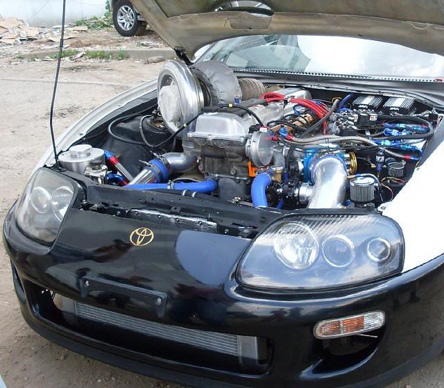 Toyota-Supra-with-a-turbo-1FZ-FE-inline-six-02