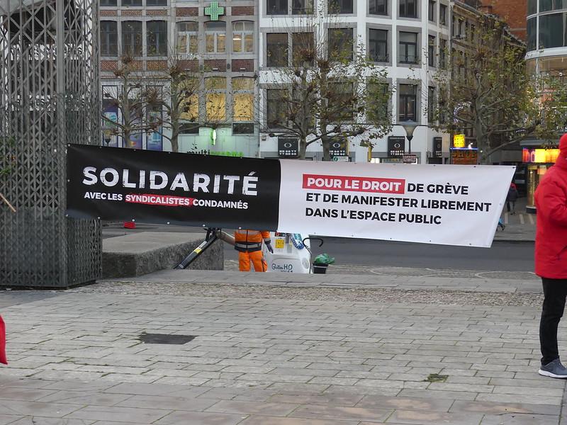 10 décembre 2020 - Syndicalistes, pas criminels!