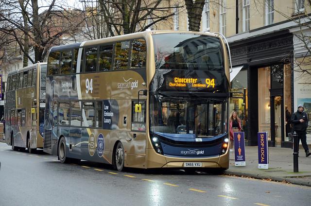 Stagecoach Gold SN66 VXU, Cheltenham