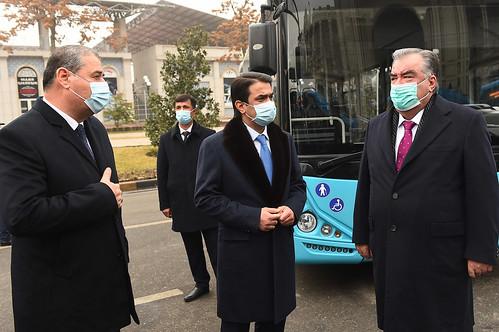 Муаррифии 36 автобус ва 69 троллейбуси нав дар шаҳри Душанбе   11.12.2020