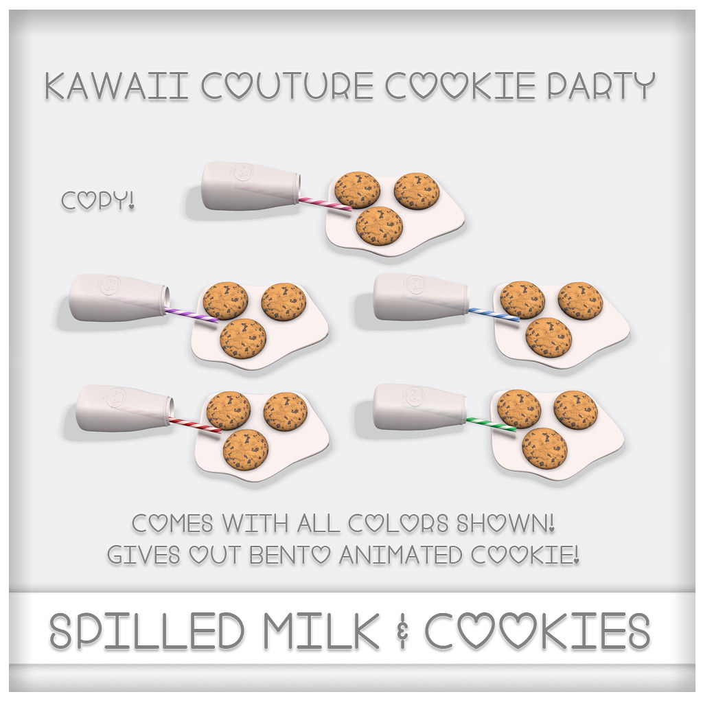 Cookie Party - Spilled Milk & Cookies Ad