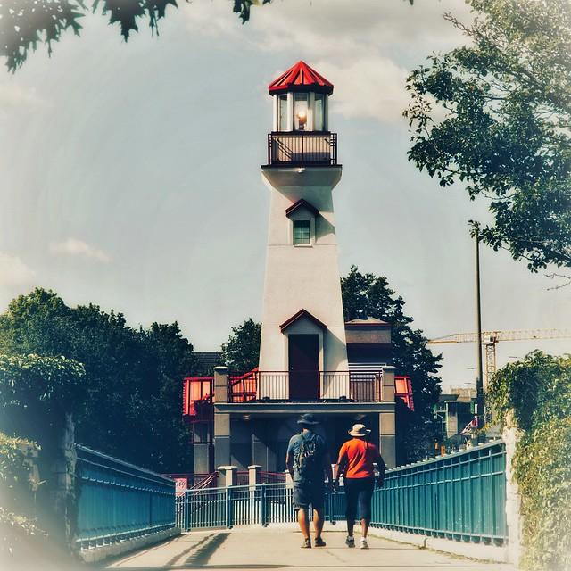 Remember summer? Port Credit Lighthouse - Mississauga Canada