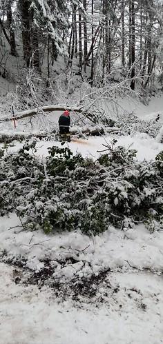 Schnee Einsatz