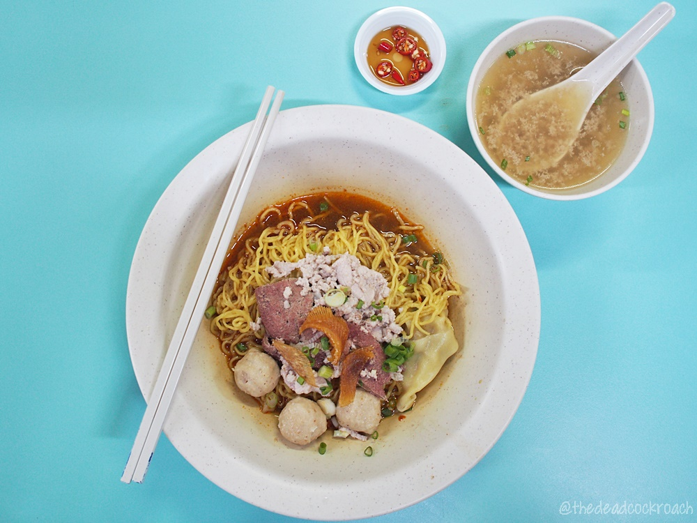 大華,大华肉脞面,大華肉脞麵,大华,bcm,food,bak chor mee,singapore,tai wah pork noodle,肉脞麵,food review,review,肉脞面,
