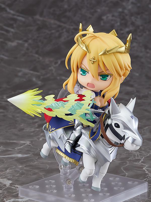 黏土人「Lancer/阿爾托莉亞&Dun Stallion」吾王霸氣登場  無馬版本同步推出!