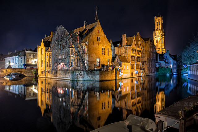 Bruges by night 2020