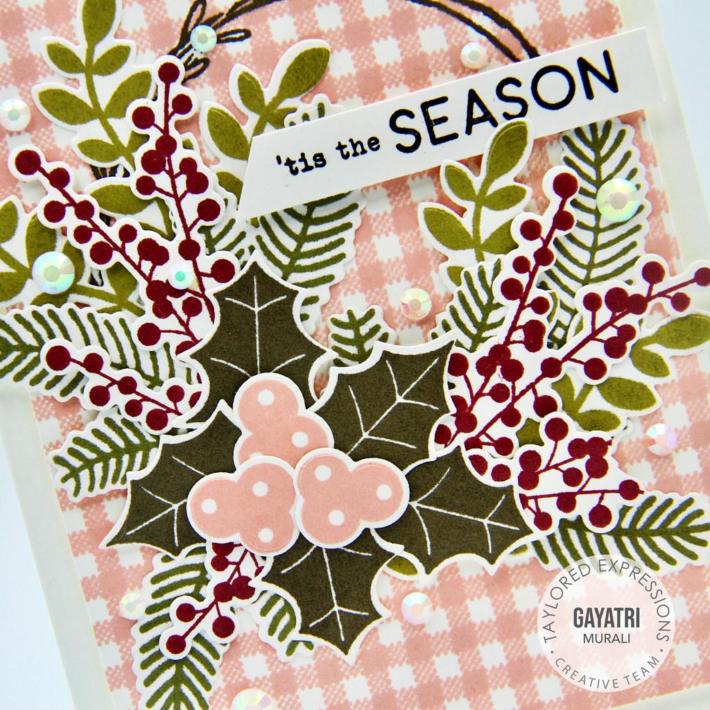 Tis the Season card closeup