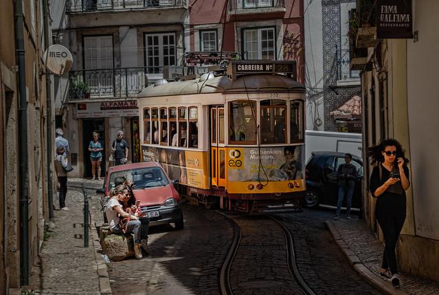 Lisbon Tram number 28