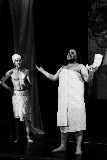 «Hanuma» [RA-Teatr]  - scene in sulfur baths