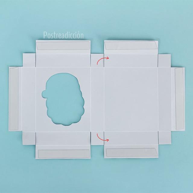 caja gratis imprimible navidad