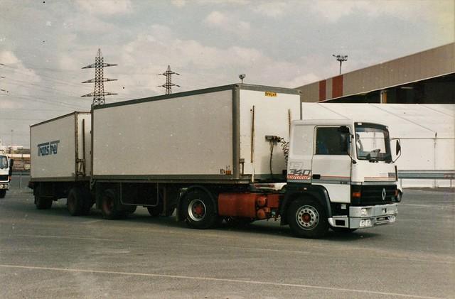 Renault R340-19t FDS (France Distribution S.A.) Créteil (94 Val de Marne) 1988a