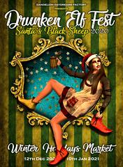 Drunken Elf Fest 2020 - 12th December / 10 th January 2021