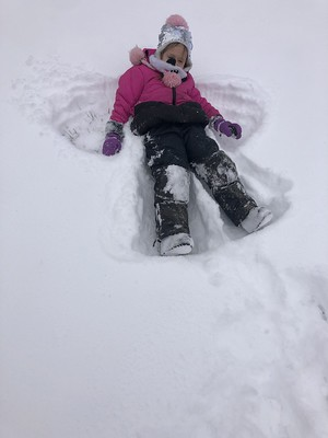 deep snow for angels
