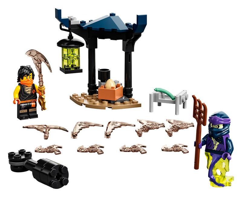 LEGO NINJAGO 2021 Epic Battle Set – Cole vs. Ghost Warrior