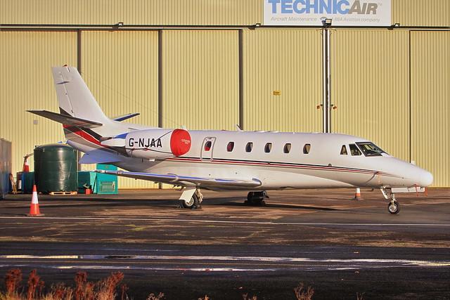 G-NJAA Cessna C560XL Citation