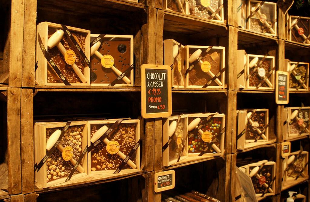 Chocolate tradicional en Brujas