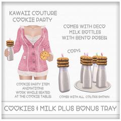 Cookie Party - Milk & Cookies Ad