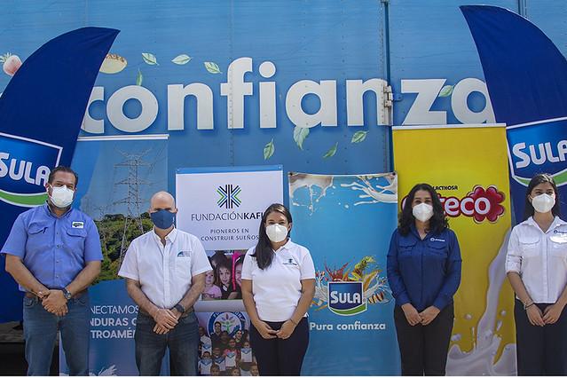 Fundación Kafie dona 5,000 kits para apoyar a las familias afectadas por eta e Iota