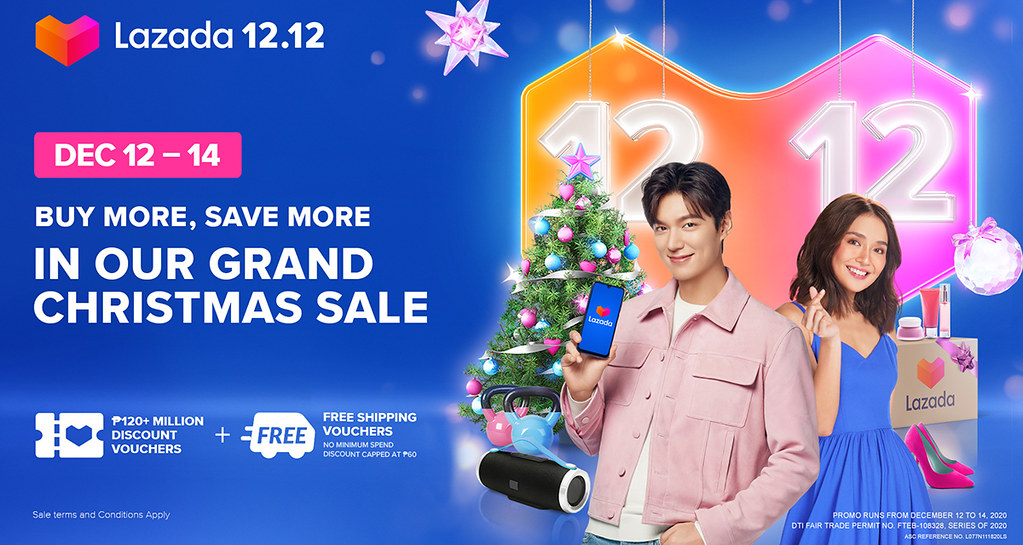 Lazada continues to share happiness with its 12.12 Grand Christmas Sale