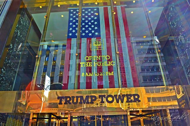 Trump Tower Entrance 5th Ave E 56st St Midtown Manhattan New York City NY P00738 DSC_2066