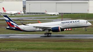 Aeroflot A350-941 msn 414 F-WZFN / VP-BYZ