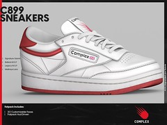 [COMPLEX] C899 SNEAKERS