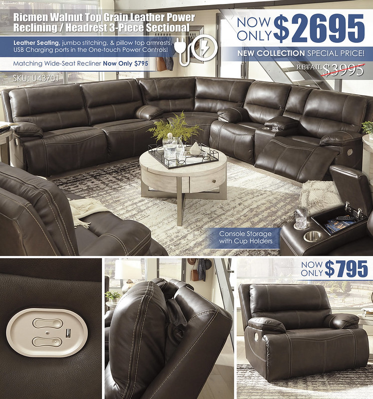 Ricmen Power Reclining 3-PC Sectional Special_U43701_Update
