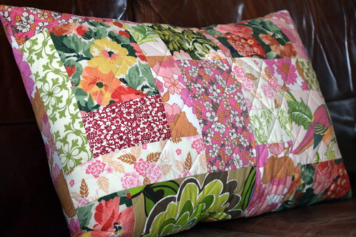 Vintage Quilted Cushion