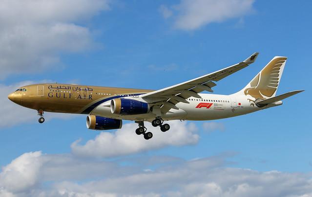 A9C-KD Airbus A330-243 Gulf Air