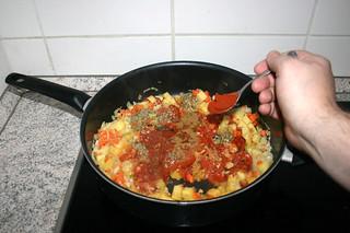 30 - Add roasted paprika / Geröstetes Paprika dazu geben