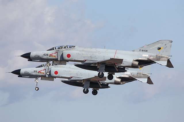 17-8438, McDonnell Douglas F-4EJ Kai JASDF @  Nyutabaru RJFN