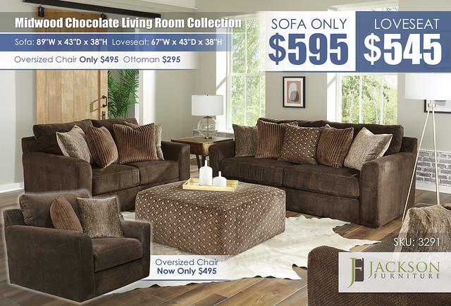 Midwood Chocolate Sofa OR Loveseat_3291_ALT