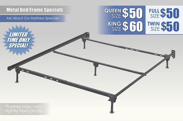 Metal Bed Frame Specials