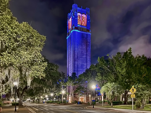 Century Tower, University of Florida, Gainesville, Florida, USA / Architects: William Augustus Edwards & Jefferson M. Hamilton / Completed: 1956 / Height: 157 ft / Added NRHP: April 20, 1989