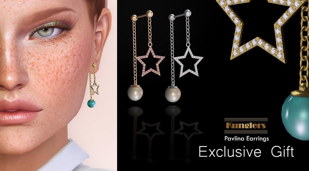 KUNGLERS – Pavlina earrings
