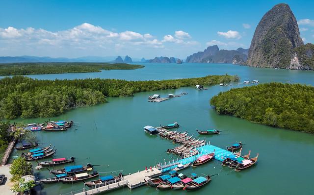Phang-Nga-Bay, Thailand