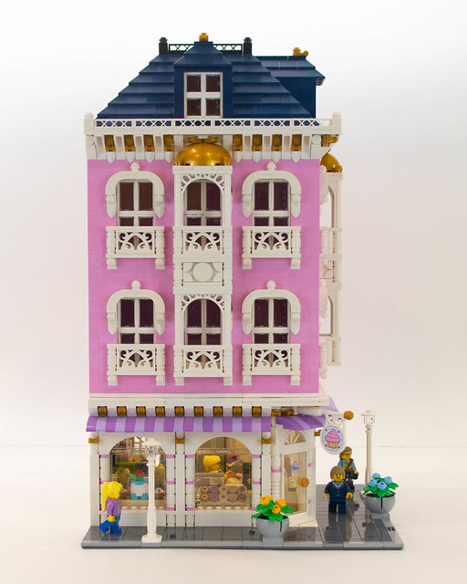Lego Corner Bakery