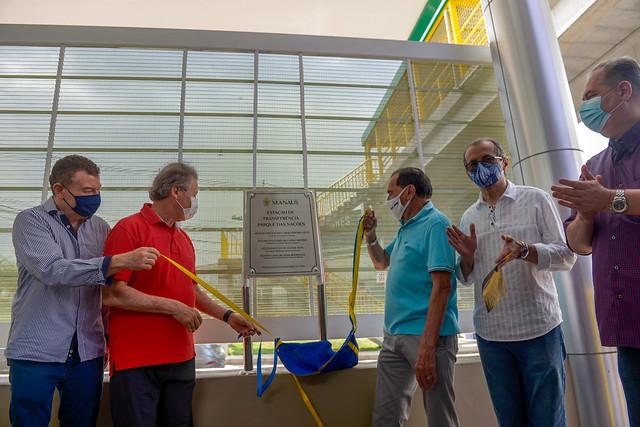 11.12.20 Prefeito inaugura estação de transferência Parque das Nações, Zona Norte