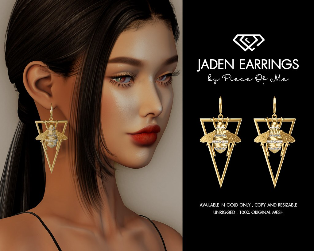 Jaden Earrings @ Mainstore & Marketplace