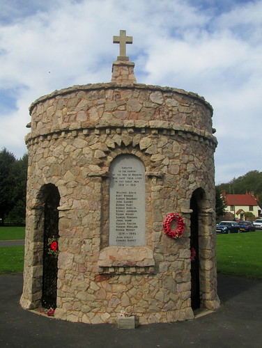 War Memorial Dedication, Breedon on the Hill