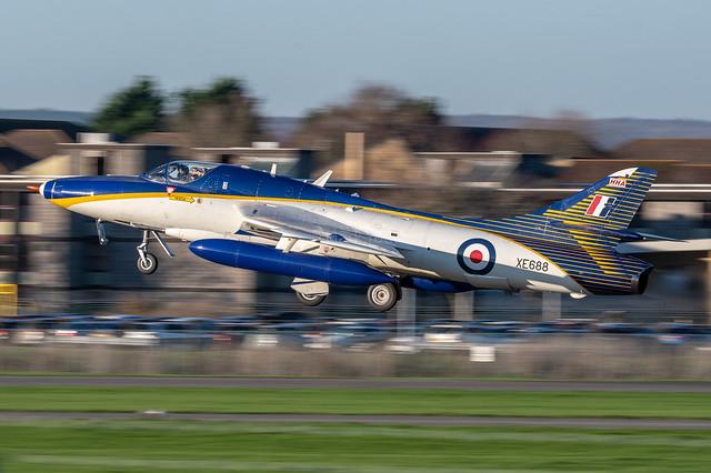 Hawker Hunter T.72 I XE668 (PP-XHH) I Hawker Hunter Aviation Ltd. (HHAL) RAF Scampton