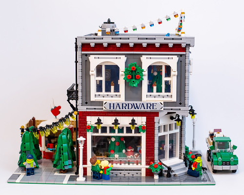Hardware Store at Christmas