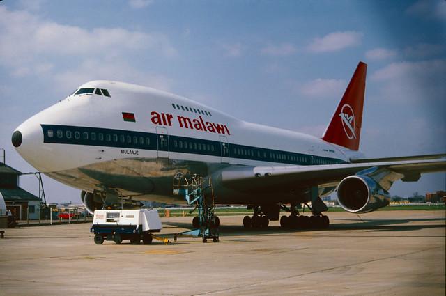 7Q-YKL Boeing 747SP-44 (21133/282) Air Malawi
