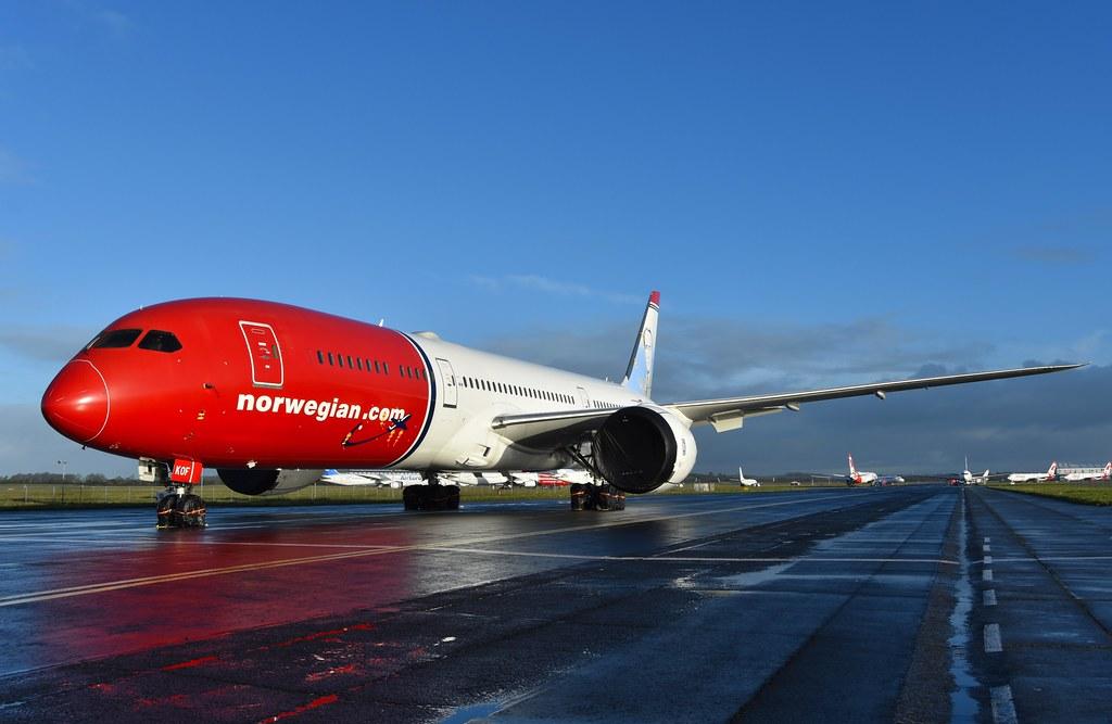 G-CKOF B787-9 Norwegian