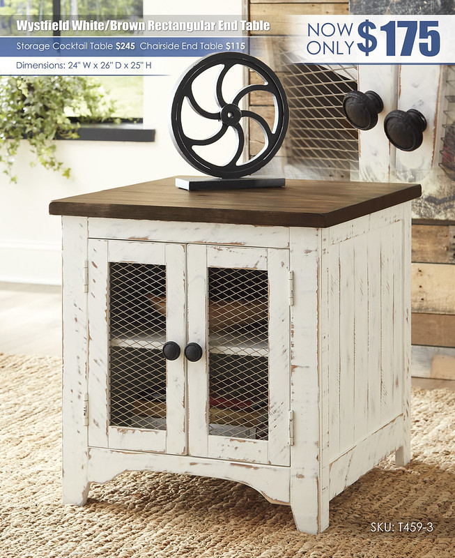 Wystfield Rectangular End Table_T459-3