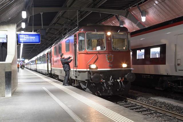 SBB Re 4/4 420 147 Zürich Hbf