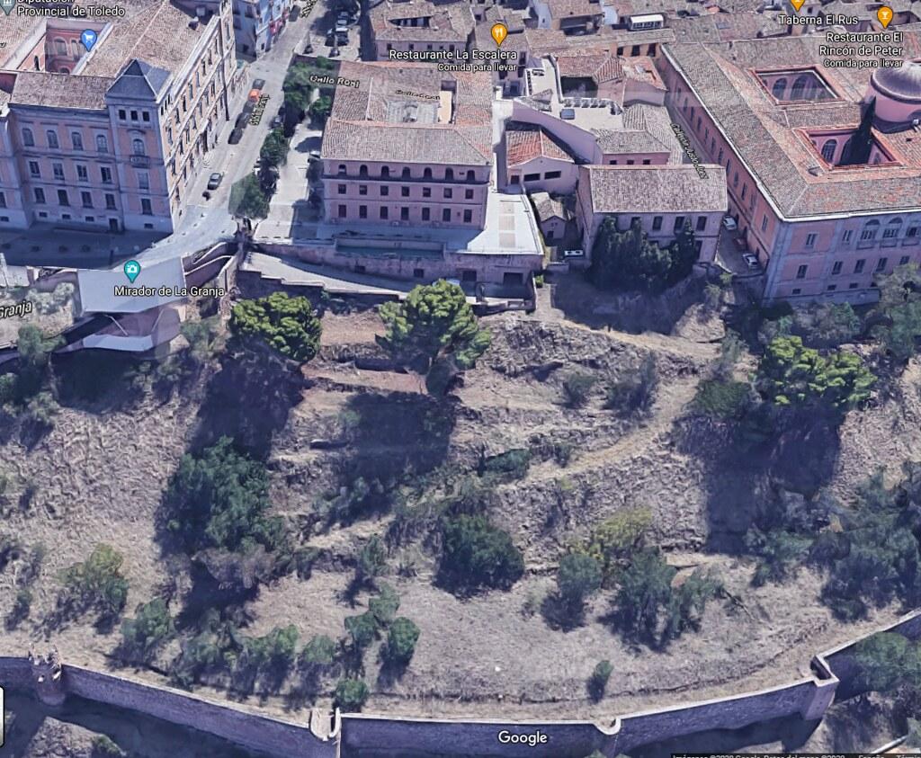 Palacio de Vargas en la actualidad (subsede de la Diputación Provincial). Google Maps.