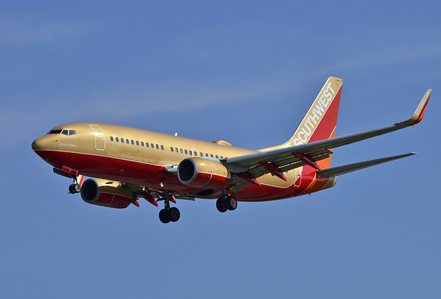 Southwest Airlines Retro Scheme