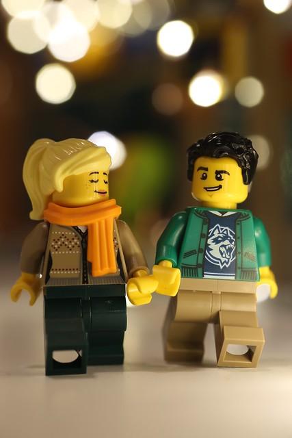 A Hallmark LEGO Christmas.