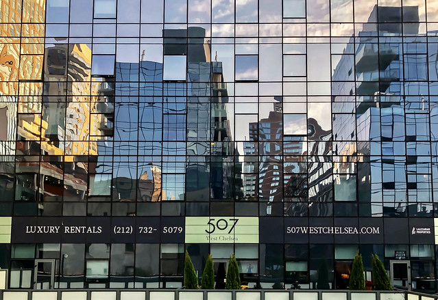 507 reflections - Highline, New York City